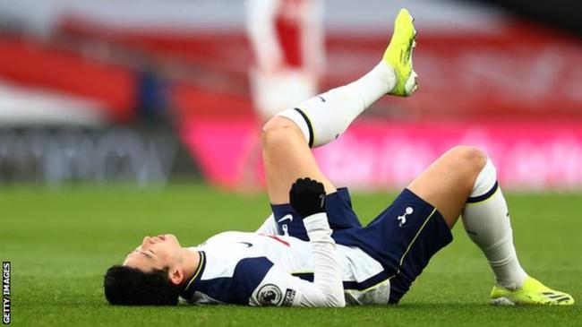 穆里尼奥输球还有烦心事 劳模孙兴慜受伤了