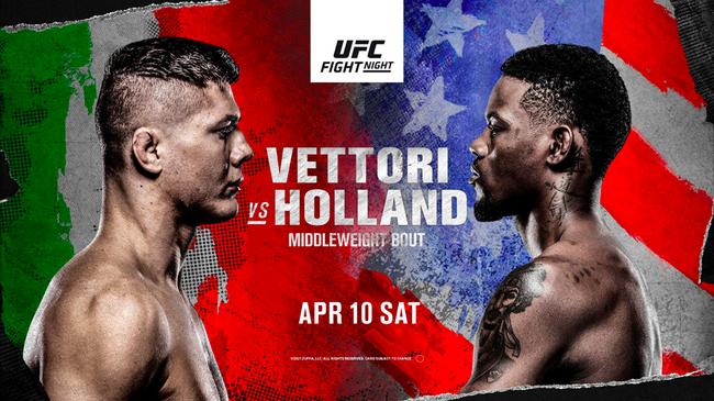UFC格斗之夜:维托里 VS 霍兰德
