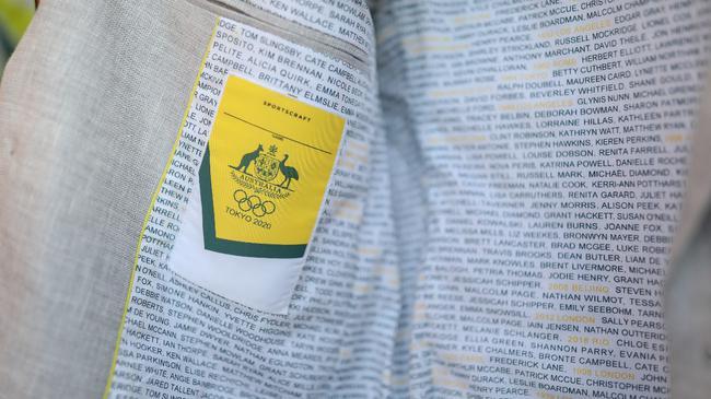 澳洲公布奥运开幕式服装 不忘冠军功勋内衬有巧思