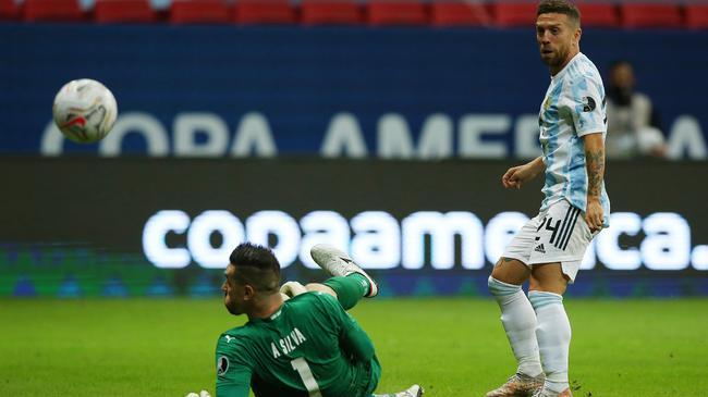 阿根廷贏球