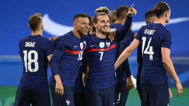 法國隊奪冠賠率1賠3.75為最低