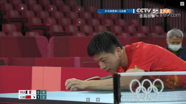【博狗体育】奥运乒乓球男单马龙43分钟4-1西蒙-高茨 挺进8强