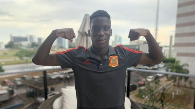 巴萨18岁小将放弃入选西班牙队  将代表几内亚出战