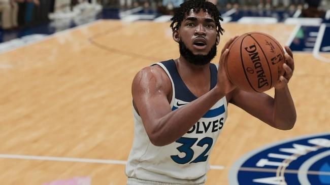 森林狼全隊NBA2k22能力值:唐斯87 拉塞爾83