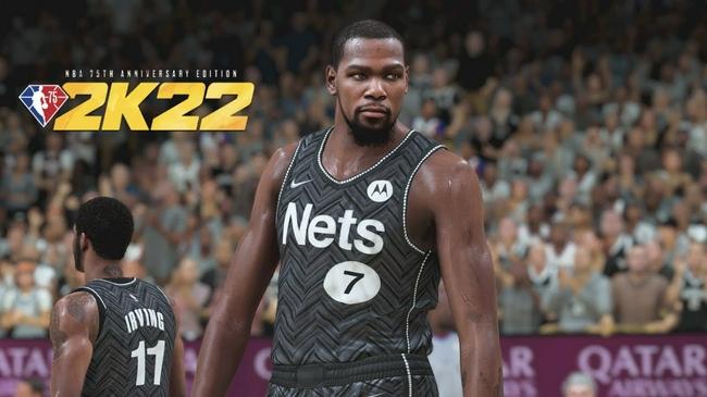 篮网全队NBA2K22能力值公布:三巨头90+ 阿德79