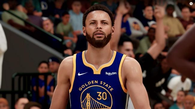 勇士全队NBA2k22能力值:库里96 维金斯追梦80