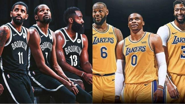 NBA新賽季季前賽完整賽程公布 首戰籃網對湖人