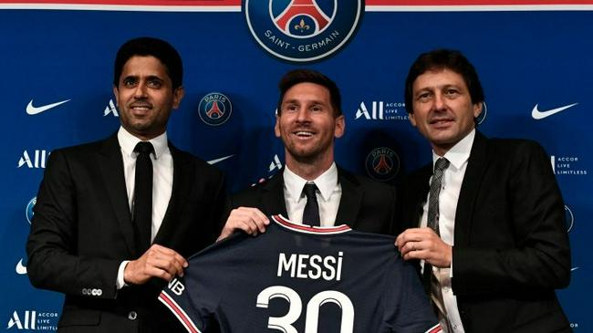 巴黎主管:梅西合同只2年  没有延长的选项