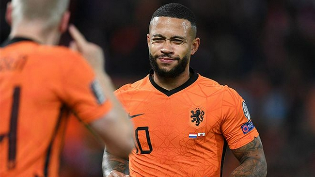 【博狗体育】今年14场进14球   德佩创荷兰队史自然年进球纪录