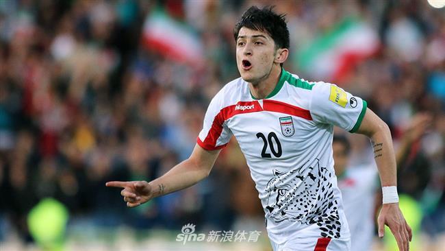 伊朗亚洲杯23人名单:阿兹蒙领衔 9名旅欧球员出击