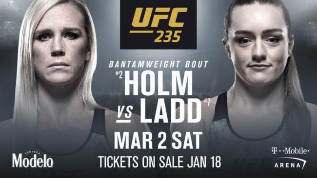 不败新星拉德将在UFC235提战霍尔姆