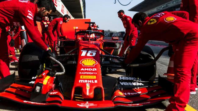 法拉利季前试车跑出了超群的圈速