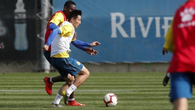 武磊将不会参加中国杯