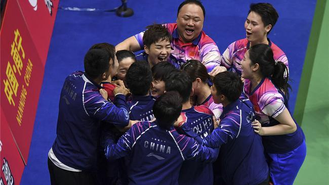 吾们熟识的中国羽毛球队正在回归!
