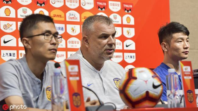 奥拉罗尤:有球员缺阵踢国安遗憾 尽全力去争胜
