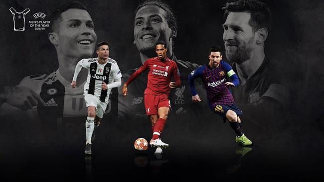 欧足联最佳球员三人候选:梅西C罗范迪克终极PK