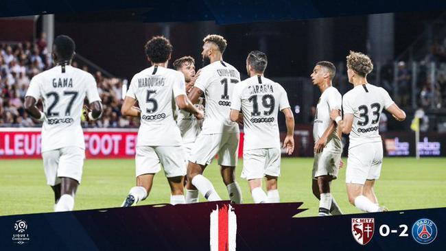 法甲-迪马利亚点射 替补中锋2场3球 巴黎2-0连胜