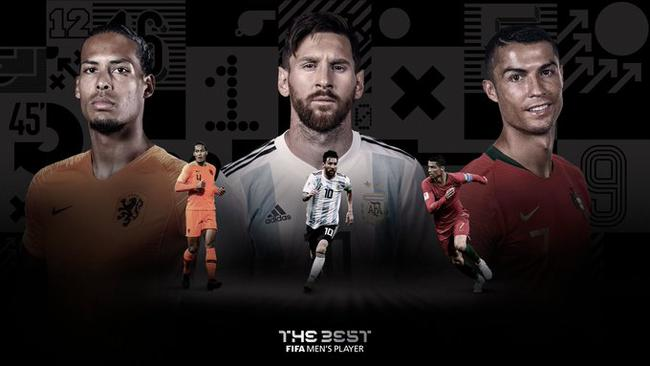 范迪克领衔FIFA最佳球员
