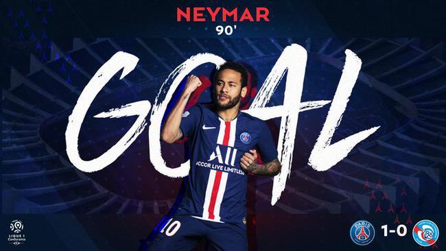 103法甲-内马尔91分钟倒钩绝杀!巴黎1-0力夺三连胜