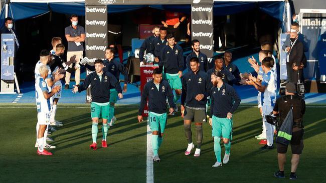 西甲-拉莫斯进球 皇马2-2客平送第三支降级队出炉