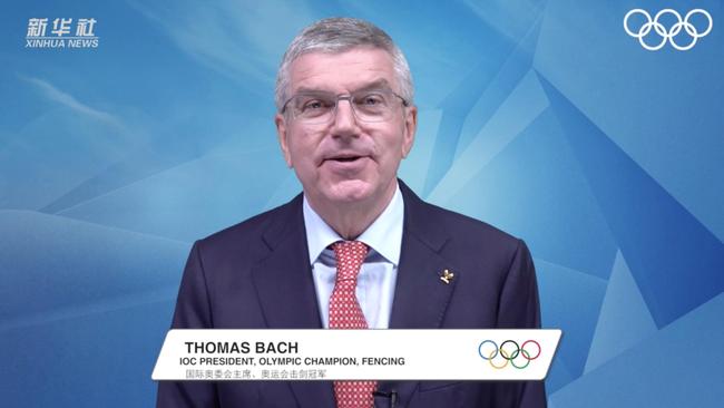 国际武术联合会成立30周年 IOC主席巴赫祝贺