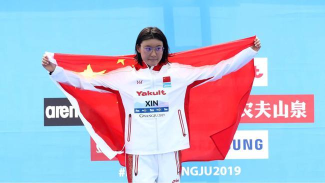 """马拉松游泳""""铁姑娘""""辛鑫:特别想要奥运金牌"""