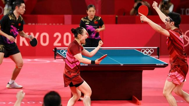 日本民众最难忘的奥运瞬间 乒乓球击败中国登顶