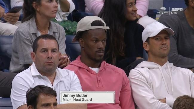 巴特勒现身美网赛场观战 曾扬言网球称霸NBA