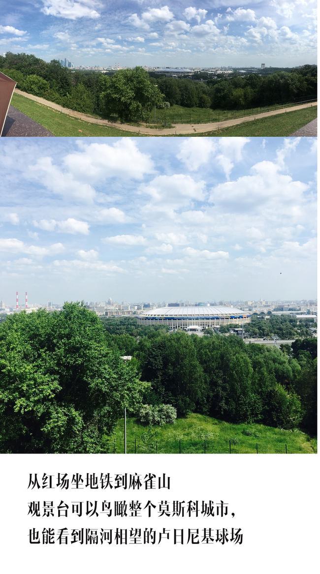 鸟瞰莫斯科