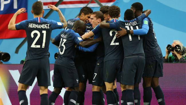 法国队的优势显现出来了