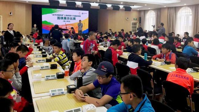 围棋在上海非常火热