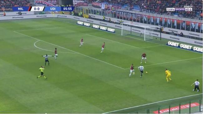 意甲第20轮 AC米兰 3-2 乌迪内斯_直播间_手机新浪网