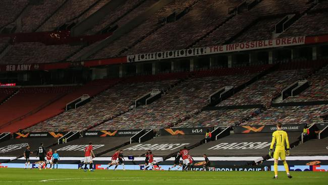曼联18次欧战4强仅次英超1队 13年来首次连3零封