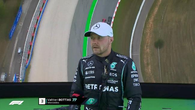 博塔斯:起步时被勒克莱尔超越 能上领奖台很不错
