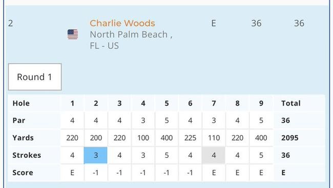 查理两轮成绩