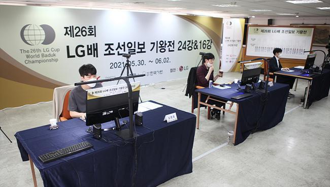 韓國棋院比賽現場