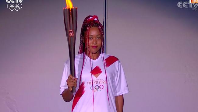 东京奥运会圣火点燃!网球大满贯大坂直美点火