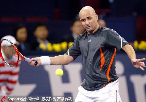 2005年,阿添西参添上海行家杯赛