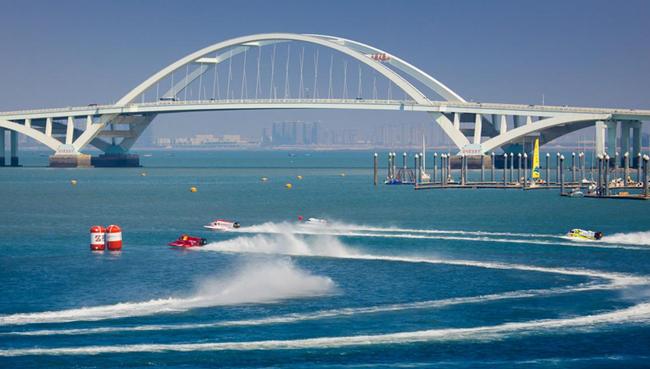 """[世界18艘国际顶级F1赛艇在厦门""""hg0088现金缘湾""""打开强烈角逐]"""