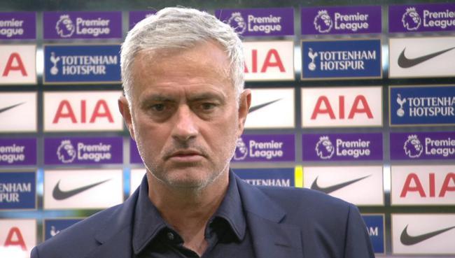 穆里尼奥:对手进球不该存在 裁判+VAR没尽到责任
