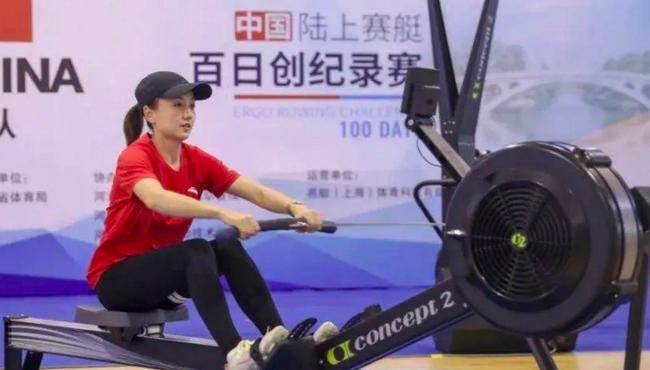 陆上赛艇百日创纪录赛江西站:打破12项世界纪录