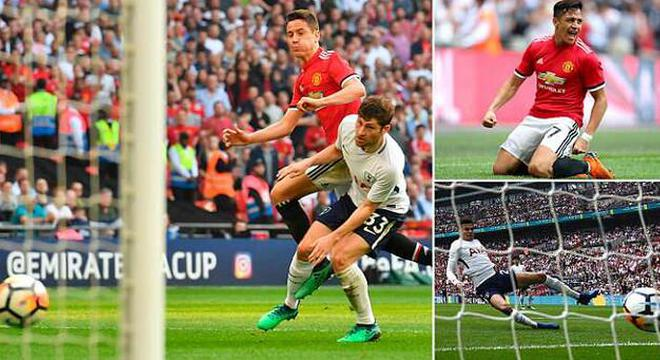 足总杯-桑切斯破门 曼联2-1逆转热刺晋级决赛