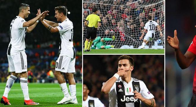 欧冠-C罗造迪巴拉进球博格巴中柱 曼联主场负尤文