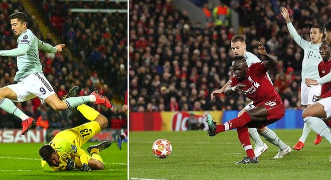 欧冠-莱万马内失良机 利物浦主场遭零封言和拜仁