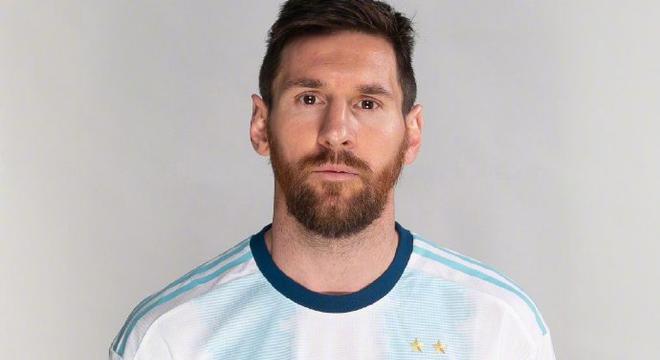 阿根廷美洲杯定妆照 梅西帅气