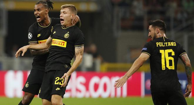 欧冠-新援补时处子球救主 国米1-1捷克冠军