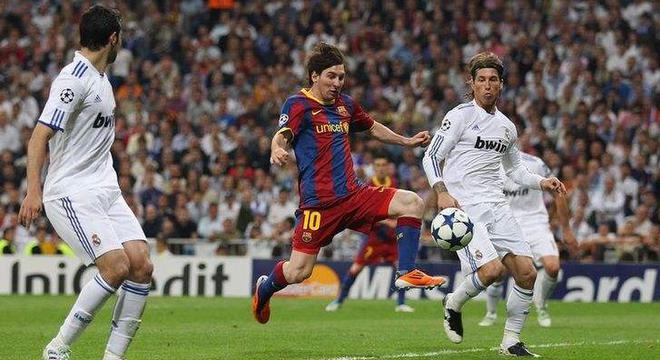 梅西最爱的一场比赛 那天他把皇马虐惨了