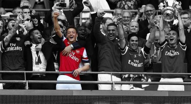 阿森纳5年前夺冠阵容只剩他了 9年无冠的终结