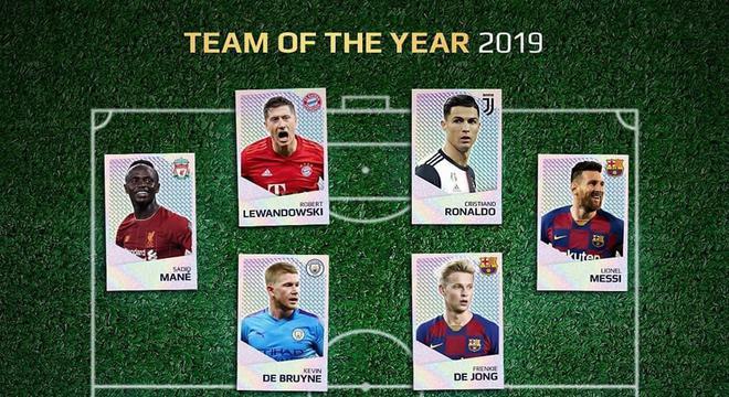 欧足联年度最佳阵:利物浦5人 梅西C罗在列