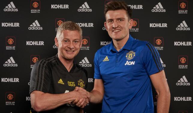曼联正式签下马奎尔